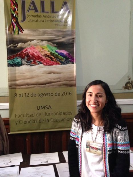 PhD student Claudia Paez presents at JALLA held in La Paz, Bolivia | The UMass Amherst Spanish & Portuguese Program Newsletter | Scoop.it