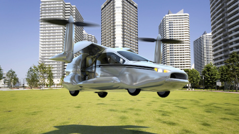 Crazy New Flying Car Is A Vertical-Takeoff 200 MPH Plug-In Hybrid | News we like | Scoop.it