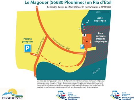 Nouvelles conditions d'accès au site du Magouer (56680)   Moi, je plonge à l'Ouest !   Scoop.it
