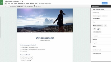 Google Forms adds short URLs, randomized questions, more | Get The Primary Core | Scoop.it