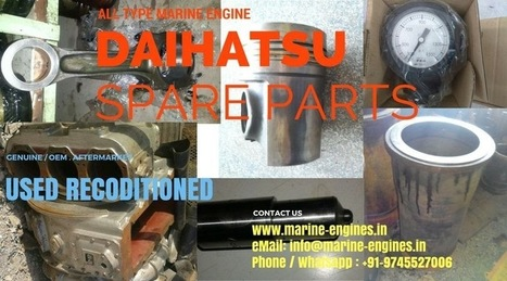 Spare Parts for all type Daihatsu Motor Navis |