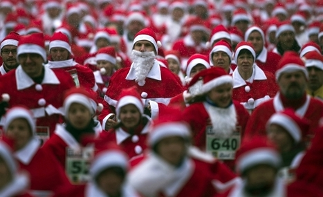 Santa stampede! Germans run in red suits and beards | JohnieTidwell.com | Scoop.it