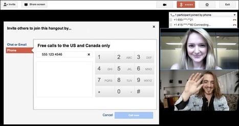 Google+: organisez une conférence téléphonique dans une Vidéo-bulle | Animateur de communauté | Scoop.it