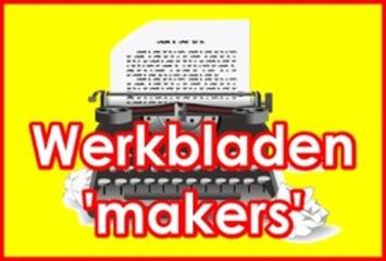 Lijstje met 18 'werkblad'-makers ('werkblad'-generatoren) | Edu-Curator | Scoop.it
