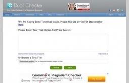 3 outils pour detecter les plagiats   veillepédagogique   Scoop.it