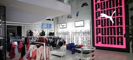 Nike, Adidas, and Puma flagship sportswear stores stores