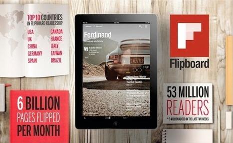 Flipboard 2.0 attire 3 millions de nouveaux utilisateurs | Tout sur les réseaux sociaux | Scoop.it