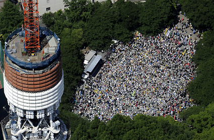 60,000 in Tokyo protest government plans to restart nuclear power | Modern Physics Projects | Scoop.it
