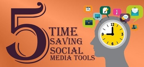 5 Social Media Tools That Will Free up Time For Your Business   Social Media, SEO, Mobile, Digital Marketing   Scoop.it