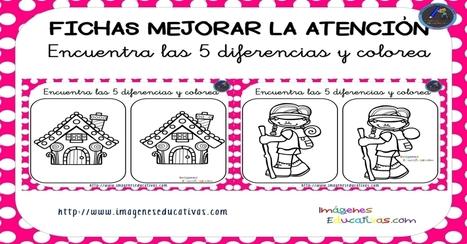 Fichas para mejorar a atención, encontramos las diferencias - Imagenes Educativas | FOTOTECA INFANTIL | Scoop.it