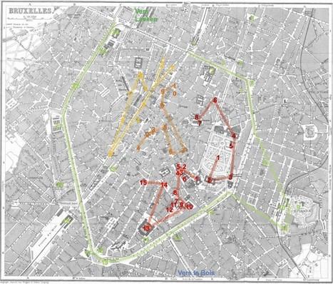 Découvrir Bruxelles dans les pas des écrivains | Art et littérature (etc.) | Scoop.it