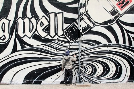 La vodka qui fait danser les murs | streetmarketing | Scoop.it