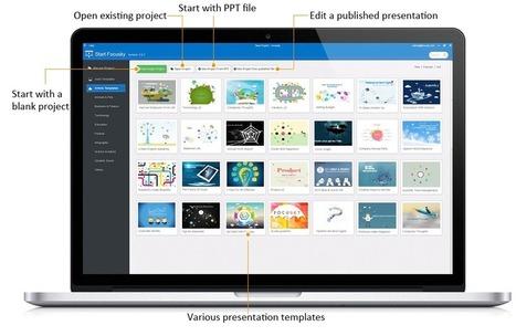 Focusky - Video Presentations and PowerPoint alternative | HandyTools For EFL Teachers | Scoop.it