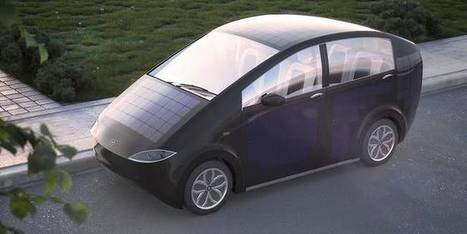 This crowdfunded electric car integrates solar panels for self-charging | Post-Sapiens, les êtres technologiques | Scoop.it