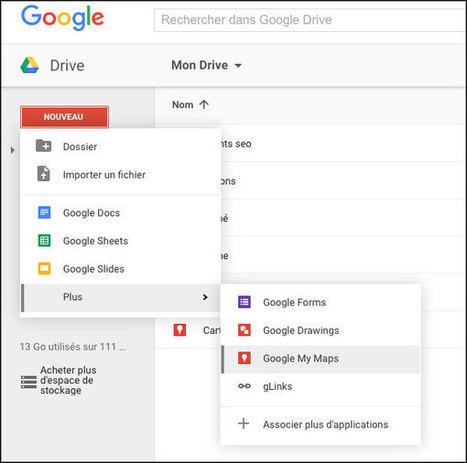Créer des cartes Google Maps personnalisées sur Drive | Informatique TPE | Scoop.it