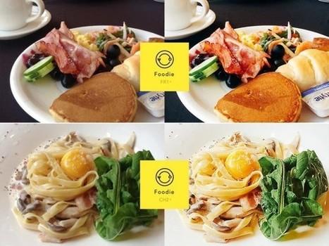 Foodie, la app para mejorar tus fotos de comida | Social Media | Scoop.it