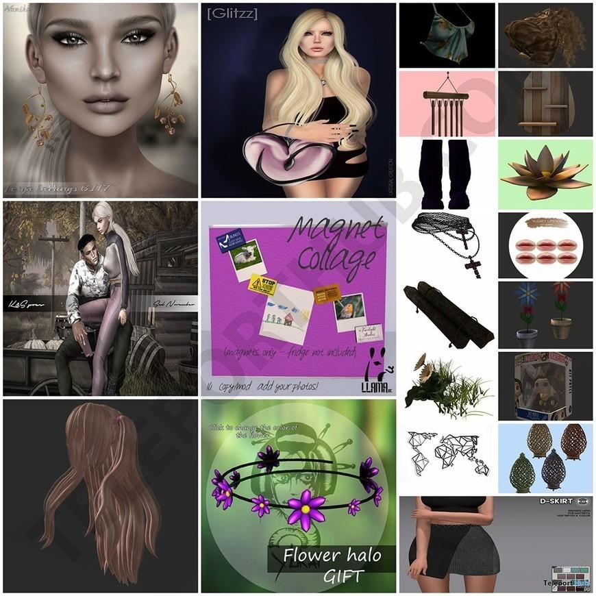 Fridge Magnet Star Spangled Elvira American Flag macabre horror pin-up girl R