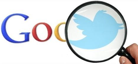 Les Tweets de Twitter seront bientôt intégrés dans les pages de résultats de Google | La révolution numérique - Digital Revolution | Scoop.it