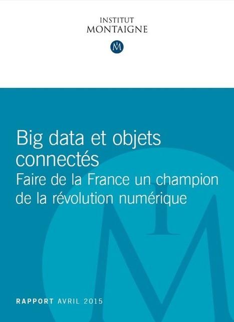 Big Data et objets connectés. Faire de la France un champion de la révolution numérique | En Essonne Réussir | Scoop.it