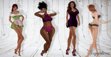 Mesh bodies available in OpenSim – | Virtual Worlds, Virtual Reality & Role Play | Scoop.it