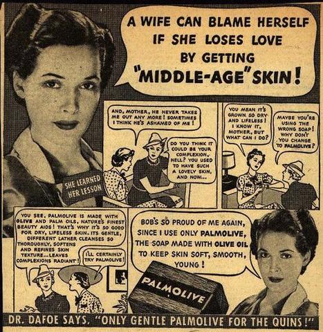"1938 A Wife Can Blame Herself If She Loses Love By Getting ""Middle-Age"" Skin! 