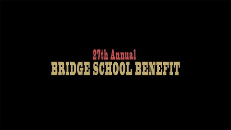 2013 Bridge School Benefit Concert | Vídeos i Llistes | Scoop.it