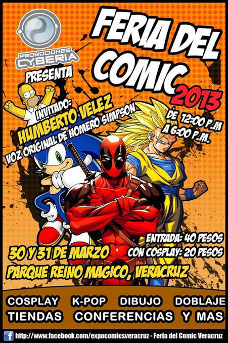 Feria del Comic 2013 Veracruz 5f2640e728ee