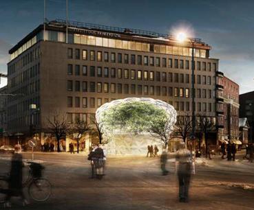 Glaston and GPD announce winner in glass pavilion design competition | Glass Magazine | Finland | Scoop.it