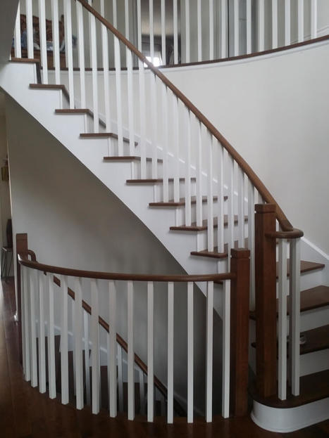 Beau Curved Staircase Prices Burlington