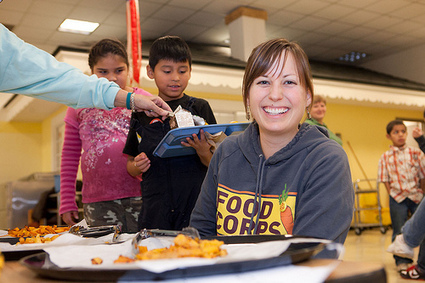 USDA Blog » USDA Partners with FoodCorps to Grow Healthy Eaters   School Gardening Resources   Scoop.it