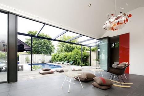 [Melbourne, Australia] South Yarra Pool House par Artillery   Journal du Design   The Architecture of the City   Scoop.it