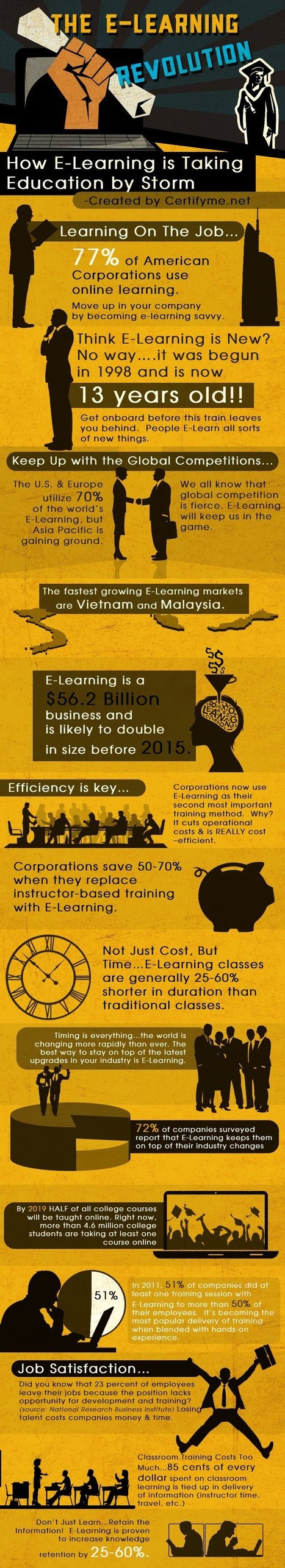 Important eLearning Statistics for 2013 | Online trainers academy | Scoop.it