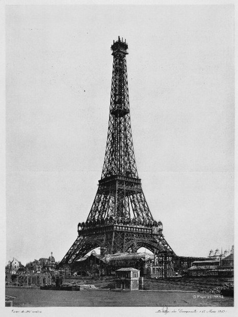 Construction of the Eiffel Tower, 1889 | Pop Culture Ninja | Scoop.it