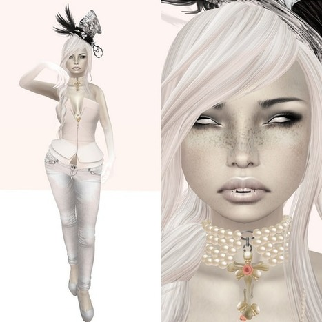 How do i look?: pure white | Free Stuff in Second Life | Scoop.it