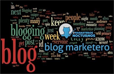 es Marketing online: Blogs de los #MarketerosNocturnos | Seo, Social Media Marketing | Scoop.it
