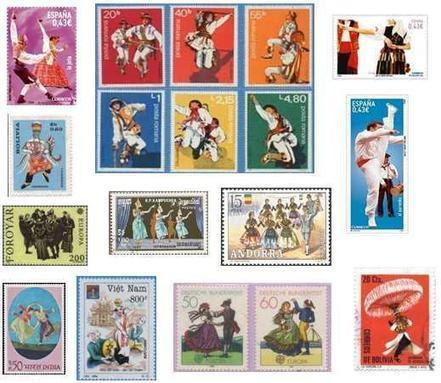 La danza como manifestación expresiva representada en el sello postal | Danza...su evolución con el tiempo | Scoop.it