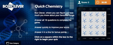 Chemistry Quiz | Box Clever | QuizFortune | Quiz Related Biz - Social Quizzing and Gaming | Scoop.it
