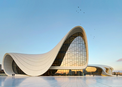 Zaha Hadid's best buildings photographed by Hufton + Crow | Intellectual Property | Scoop.it