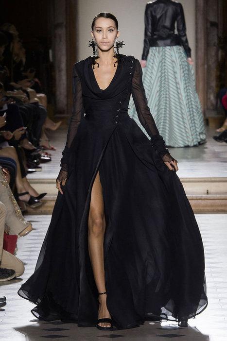 Défilé Julien Fournié haute couture : silhouettes ensorceleuses | FashionLab | Scoop.it