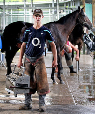 New Zealand Farrier Apprentice Aims to Jump to the Top of the Horse and Farrier World | Hoofcare and Lameness | Scoop.it