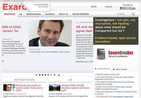 Exaro News | Top sites for journalists | Scoop.it