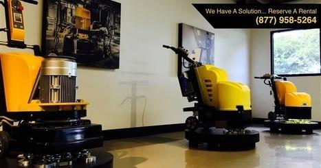Floor Grinder Rental For Construction