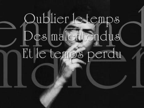 Ne me quitte pas - Le futur simple avec Jacques Brel | sophie | Scoop.it