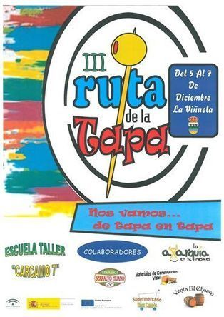 II Ruta de la Tapa - La Viñuela - 5 al 7 de Diciembre | Cosas de mi Tierra | Scoop.it