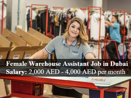 Female Warehouse Assistant Job In Dubai Jobzg