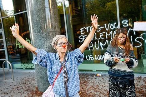 Les Indignés justifient les dégâts de la HUB #marchabruselas #walktobrussels | The Marches to Brussels | Scoop.it