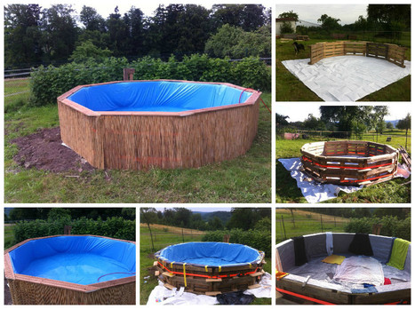 Bon Swimming Pool Made Out Of Wooden Pallets For Under $80
