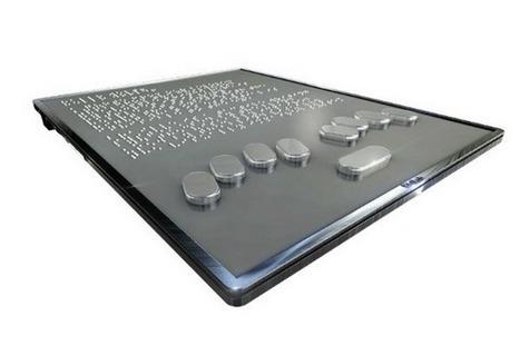 Blitab : une tablette qui permet de lire en braille | Little brooks make great rivers... | Scoop.it