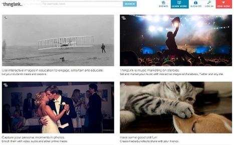 Agrega recursos multimedia a tus imágenes con Thinglink | MECIX | Scoop.it