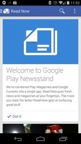 Google Unveils Google Play Newsstand; combines Magazines and Currents into one app | Mobile Tools | Scoop.it